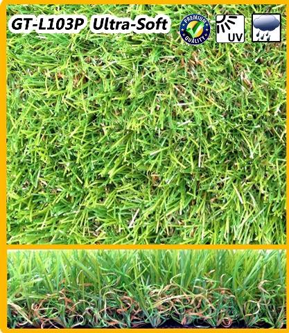 หญ้าเทียม GT-L103P (Ultra-Soft) 3 ซม.