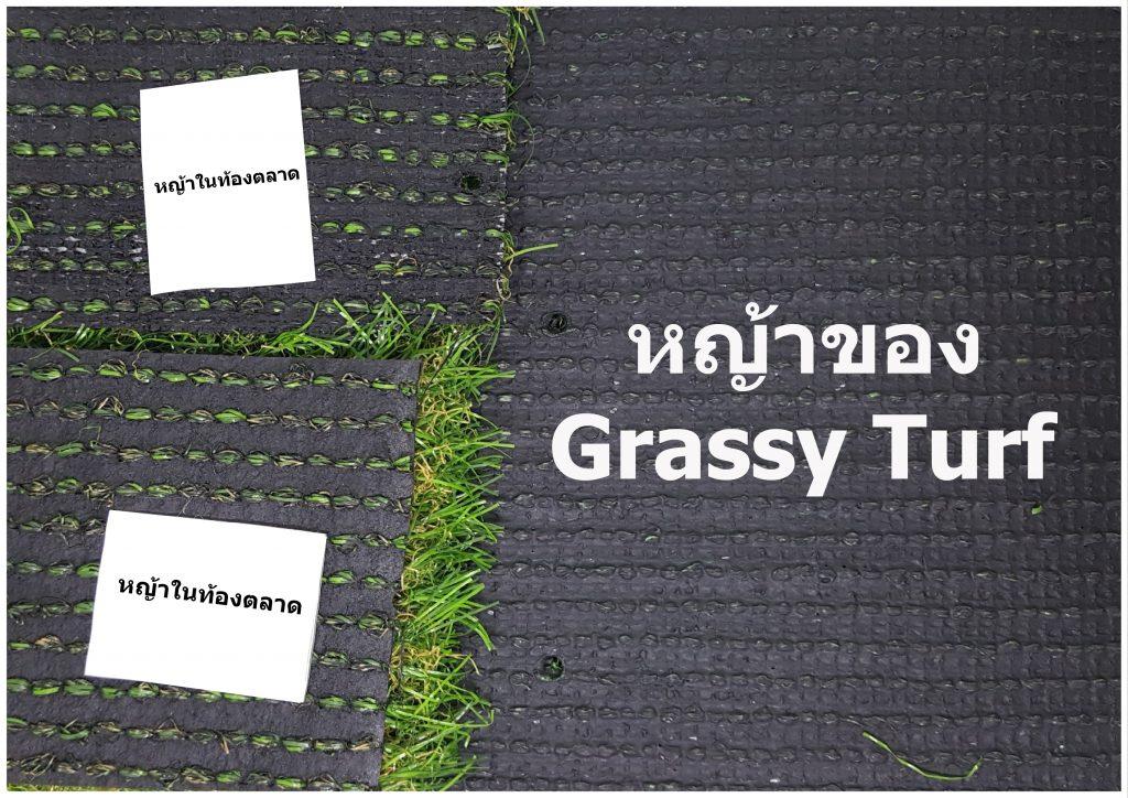 พื้นหลังหญ้าเทียม